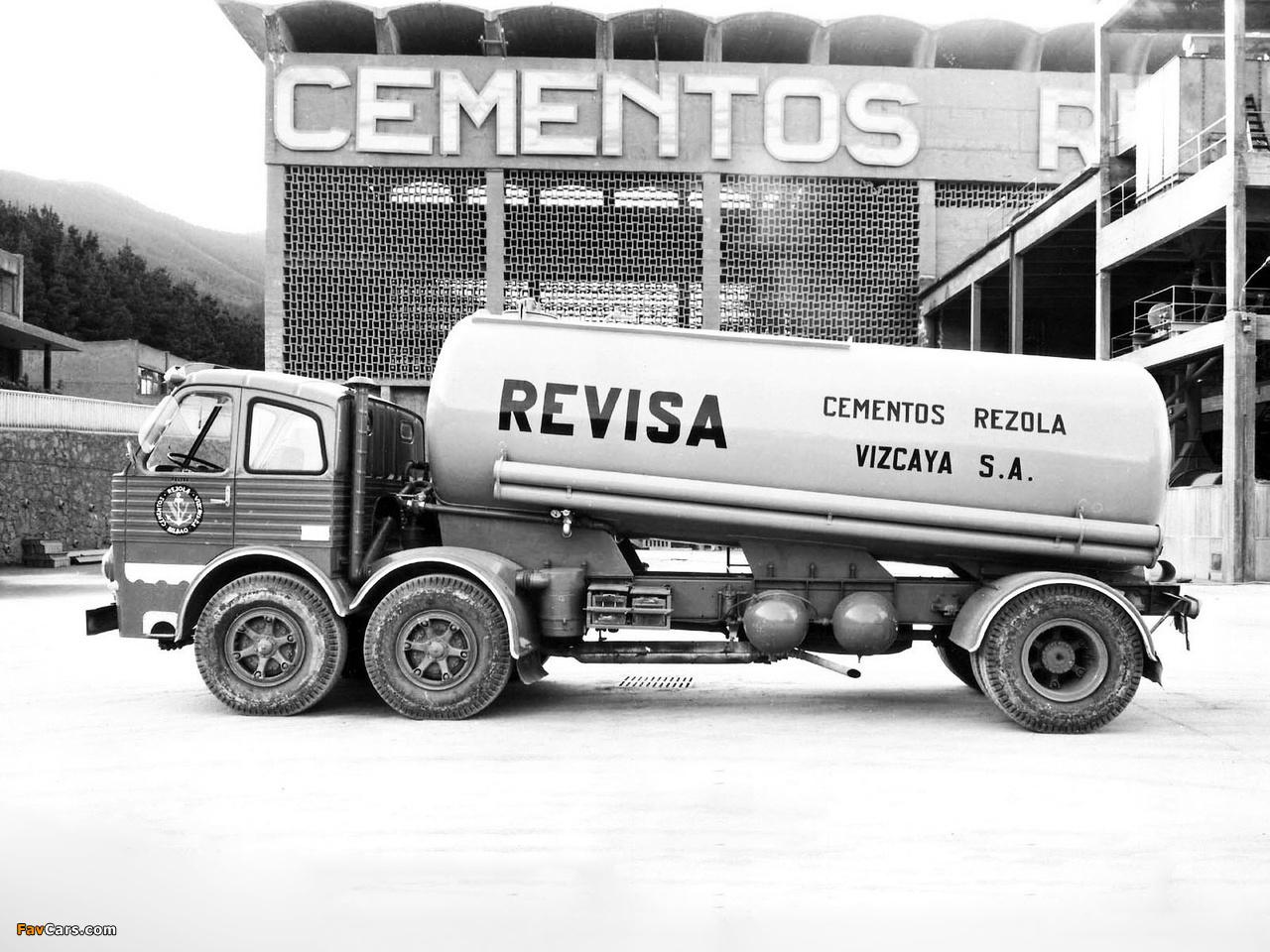 Pegaso 1063 6x2 Tanker 1962–69 wallpapers (1280 x 960)