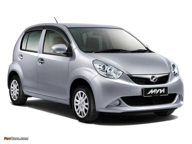 Perodua MyVi (II) 2011 wallpapers (800 x 600)