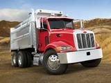 Peterbilt 348 6x4 Dump Truck 2006 wallpapers