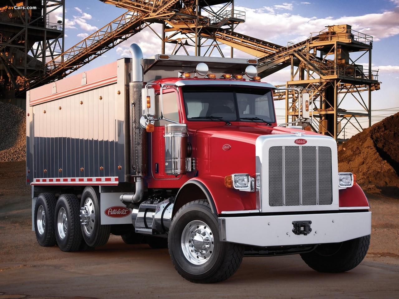 Peterbilt 367 Dump Truck 2007 photos (1280 x 960)