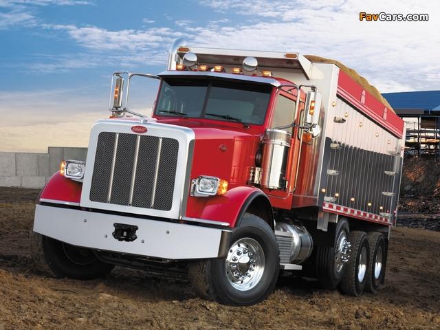 Peterbilt 367 Dump Truck 2007 wallpapers (640 x 480)