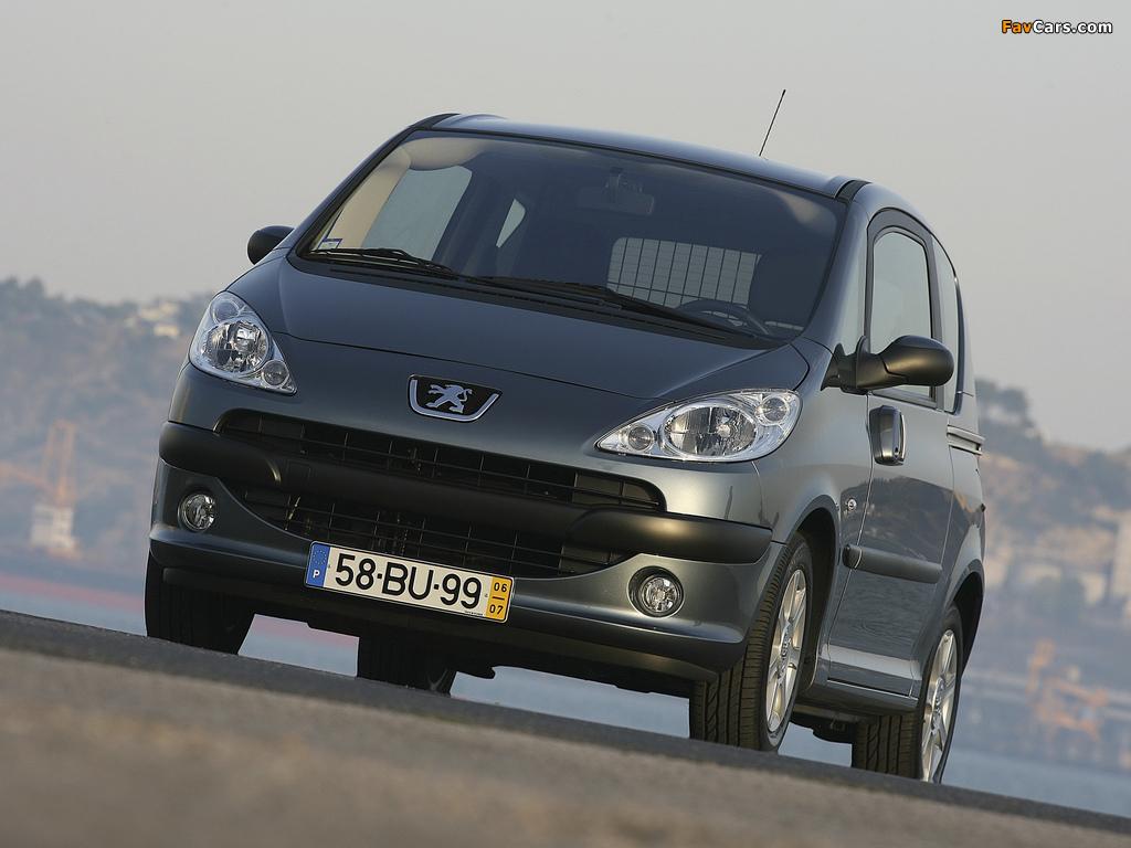 Peugeot 1007 2005–09 photos (1024 x 768)