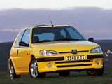 Images of Peugeot 106 S16 1996–2003