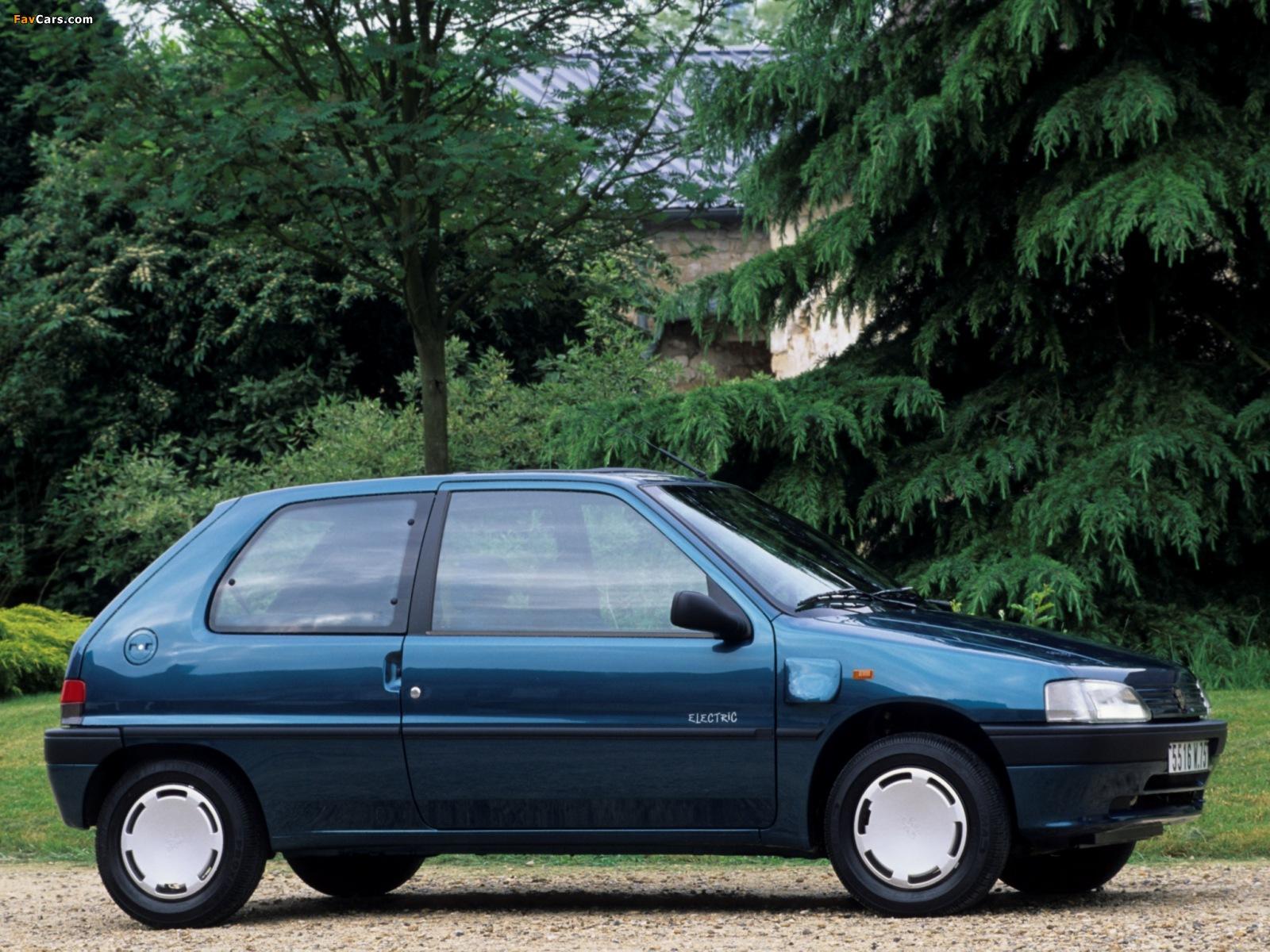 Peugeot 106 electric 3 door 1993 96 wallpapers 1600x1200 for 106 door