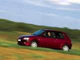 Peugeot 106 S16 1996–2003 images