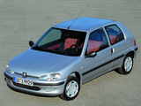 Peugeot 106 1996–2003 photos