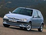 Peugeot 106 S16 1996–2003 photos