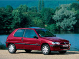 Peugeot 106 1996–2003 pictures