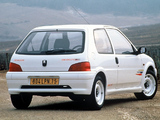Peugeot 106 Rallye 1997–98 wallpapers