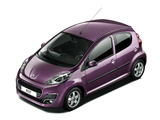 Images of Peugeot 107 5-door 2012