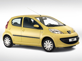 Peugeot 107 5-door 2005–08 images