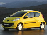 Peugeot 107 3-door 2005–08 images