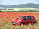 Peugeot 107 3-door 2005–08 wallpapers