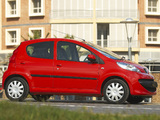 Peugeot 107 5-door ZA-spec 2006–10 photos