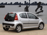 Peugeot 107 5-door ZA-spec 2010–12 images