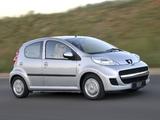 Peugeot 107 5-door ZA-spec 2010–12 images