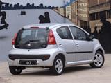 Peugeot 107 5-door ZA-spec 2010–12 wallpapers