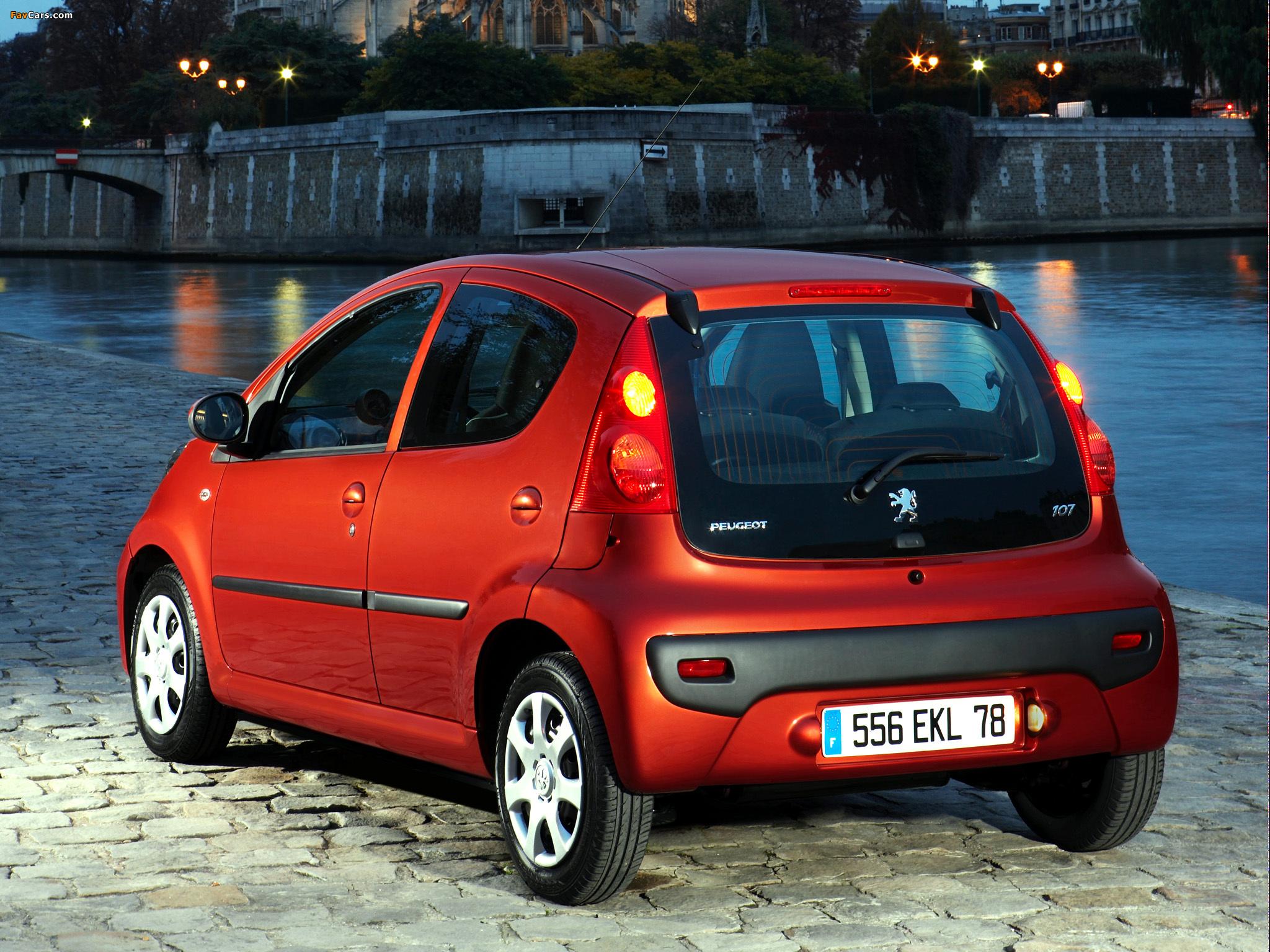 Pictures of Peugeot 107 5-door 2008–12 (2048 x 1536)