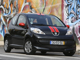 Peugeot 107 RC Line 2007–08 wallpapers
