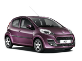 Peugeot 107 5-door 2012 wallpapers