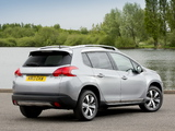 Peugeot 2008 UK-spec 2013 images