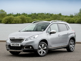 Peugeot 2008 UK-spec 2013 photos