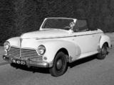 Peugeot 203 Cabrio 1951–56 photos