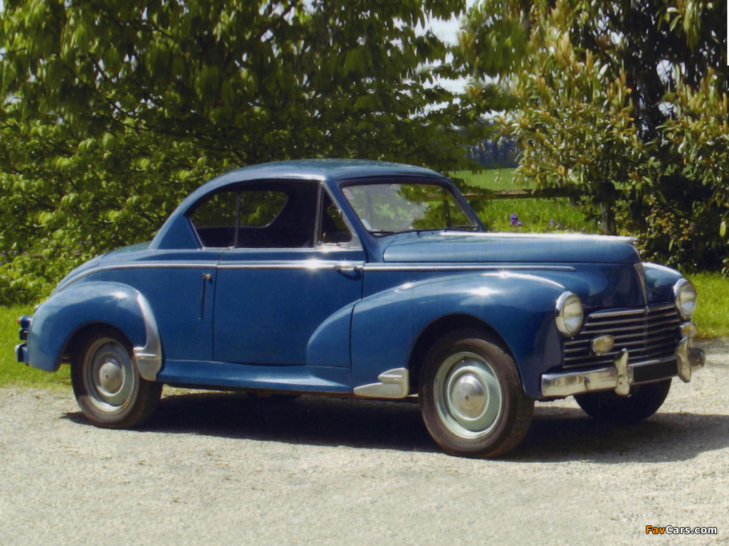 Peugeot 203 Coupe Pictures 1024x768