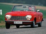 Images of Peugeot 204 Cabriolet 1966–70
