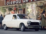 Peugeot 204 Fourgonnette 1966–76 pictures