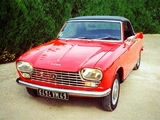 Peugeot 204 Cabriolet 1966–70 wallpapers