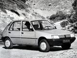 Images of Peugeot 205 5-door 1983–98