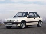 Images of Peugeot 205 Cabrio 1986–94