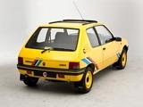Images of Peugeot 205 Rallye UK-spec 1990–92