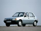 Peugeot 205 5-door 1983–98 photos
