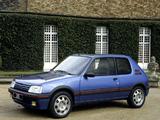 Peugeot 205 GTi 1984–94 images