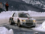 Peugeot 205 T16 Rally Car 1984–85 wallpapers