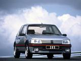 Peugeot 205 GTI 1991–94 photos