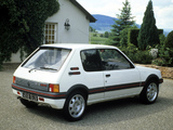 Photos of Peugeot 205 GTi 1984–94