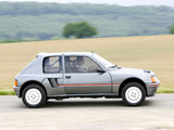 Photos of Peugeot 205 T16 1984–85