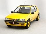 Pictures of Peugeot 205 Rallye UK-spec 1990–92