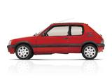 Peugeot 205 GTi 1984–94 wallpapers