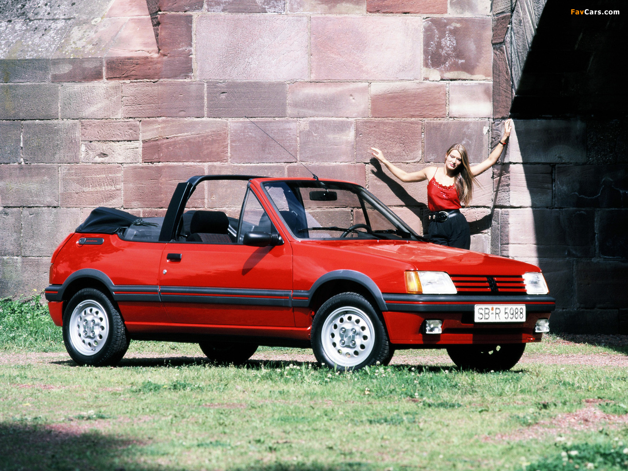 Peugeot 205 Cabrio 1986–94 wallpapers (1280 x 960)