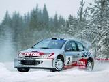 Images of Peugeot 206 WRC 1999–2003