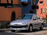 Peugeot 206 5-door 1998–2003 pictures