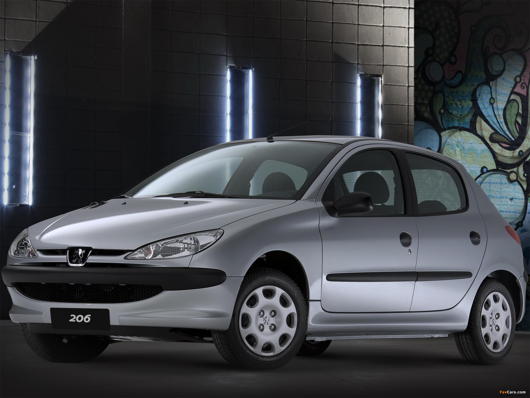 5 Door Car >> Peugeot 206 5-door 1998–2003 wallpapers (2048x1536)