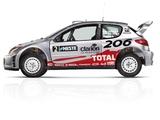 Peugeot 206 WRC 1999–2003 images