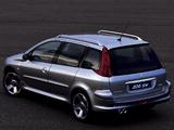 Peugeot 206 SW Concept 2001 images