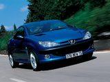 Peugeot 206 CC 2001–03 photos