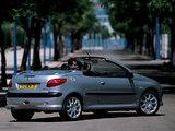 Peugeot 206 CC 2001–03 pictures
